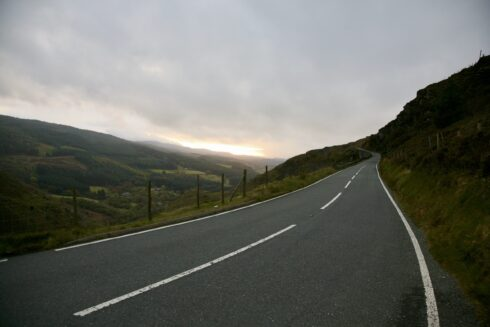 FD0007 Isolated Road Wales 70