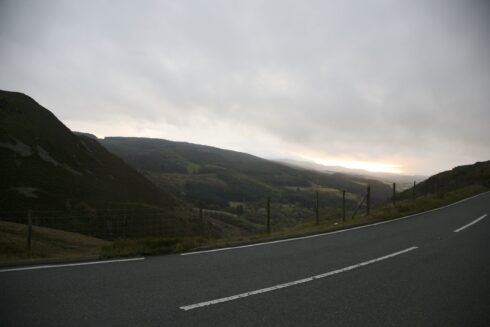 FD0007 Isolated Road Wales 71