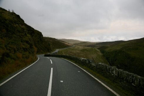 FD0007 Isolated Road Wales 73