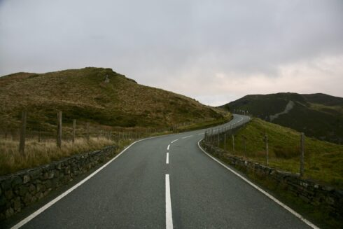 FD0007 Isolated Road Wales 76