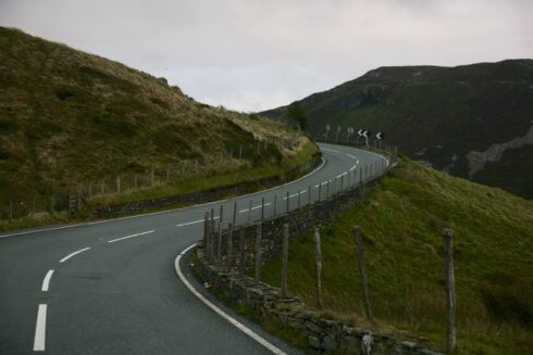 FD0007 Isolated Road Wales 77