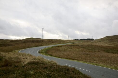 FD0007 Isolated Road Wales 8
