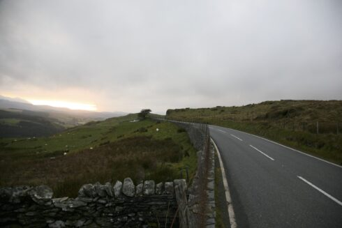 FD0007 Isolated Road Wales
