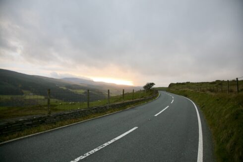 FD0007 Isolated Road Wales 83