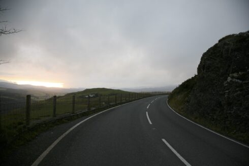 FD0007 Isolated Road Wales 84