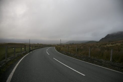 FD0007 Isolated Road Wales 85