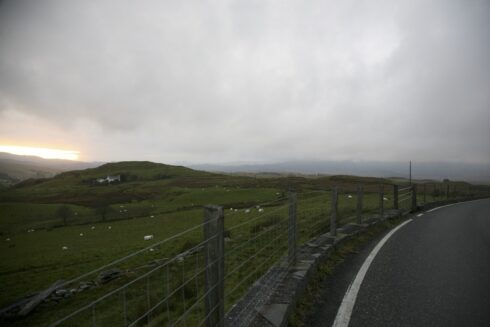 FD0007 Isolated Road Wales 86