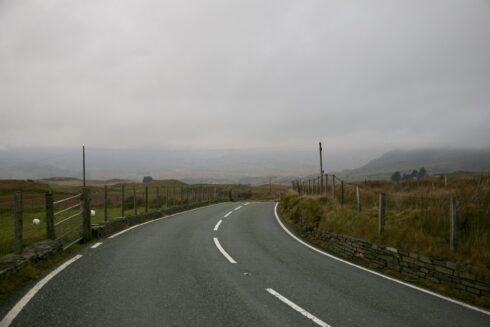 FD0007 Isolated Road Wales 87