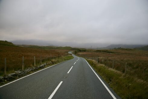 FD0007 Isolated Road Wales 88