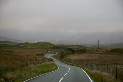 FD0007 Isolated Road Wales 89