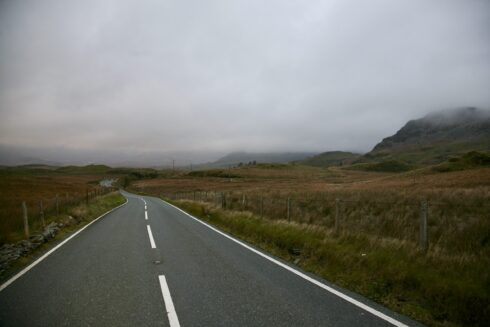 FD0007 Isolated Road Wales 90