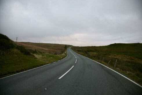 FD0007 Isolated Road Wales 91