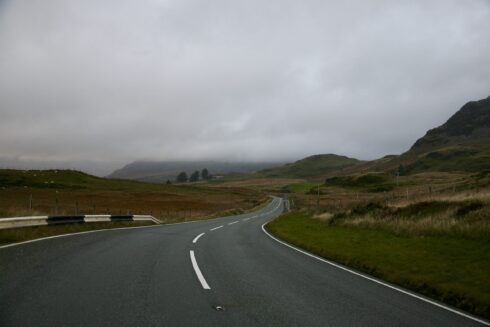 FD0007 Isolated Road Wales 92