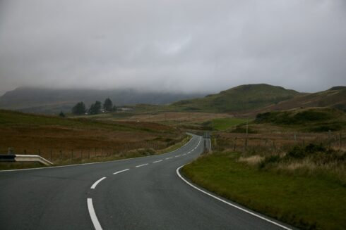 FD0007 Isolated Road Wales 93