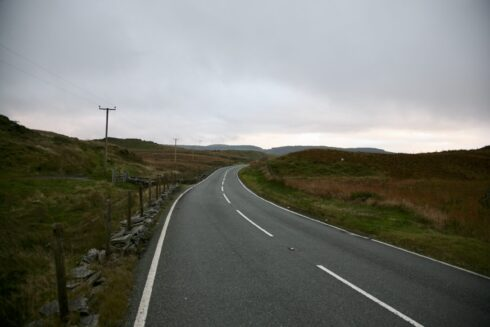 FD0007 Isolated Road Wales 95