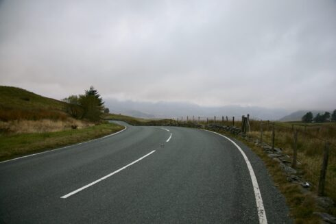 FD0007 Isolated Road Wales 96