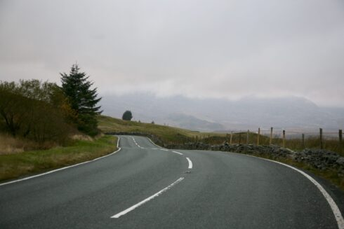 FD0007 Isolated Road Wales 97