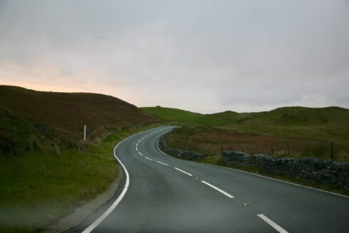 FD0007 Isolated Road Wales 98