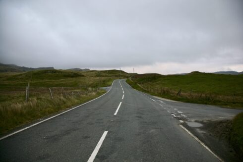 FD0007 Isolated Road Wales 99