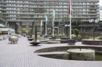 Brutalist Plaza The City EC2Y